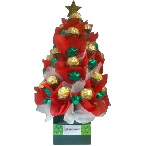 Chocolicious Tree (Red&White)